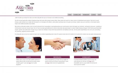 Assensio Coaching en Ontwikkeling door tsiis websites