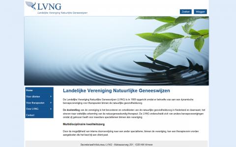 Website ontwerp LVNG